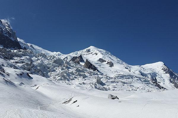 Changements de climat sur le Mont-Blanc